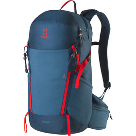 Haglöfs Spira 25 Mochila, blue ink/pop red